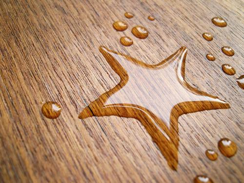 estrela* Happy Beautiful Table Water Drops of water Wood Sign Wet Universe Star (Symbol) Water mark Wooden table Milky way Planet Fixed star Dappled Meteor Holy