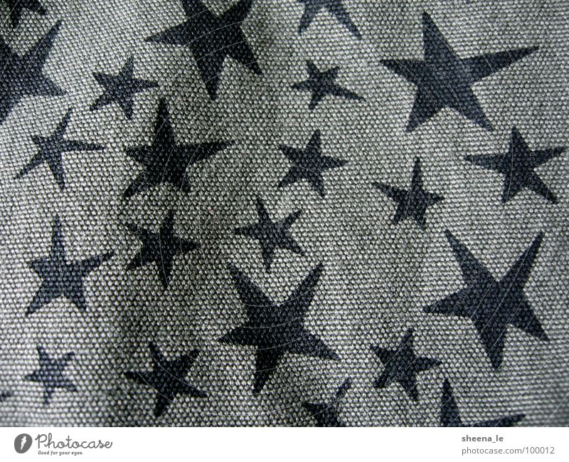 asterisk Joy Punk Cloth Funny Sweet Green Black Star (Symbol) army Stars Pattern canvas Navy Close-up Macro (Extreme close-up) Structures and shapes
