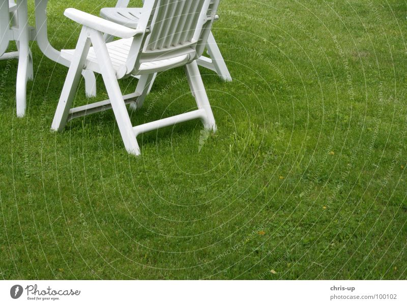 White Green Summer Meadow Grass Garden Feasts & Celebrations Break Chair Couch Lawn Club Furniture Statue Seating Barbecue (apparatus)