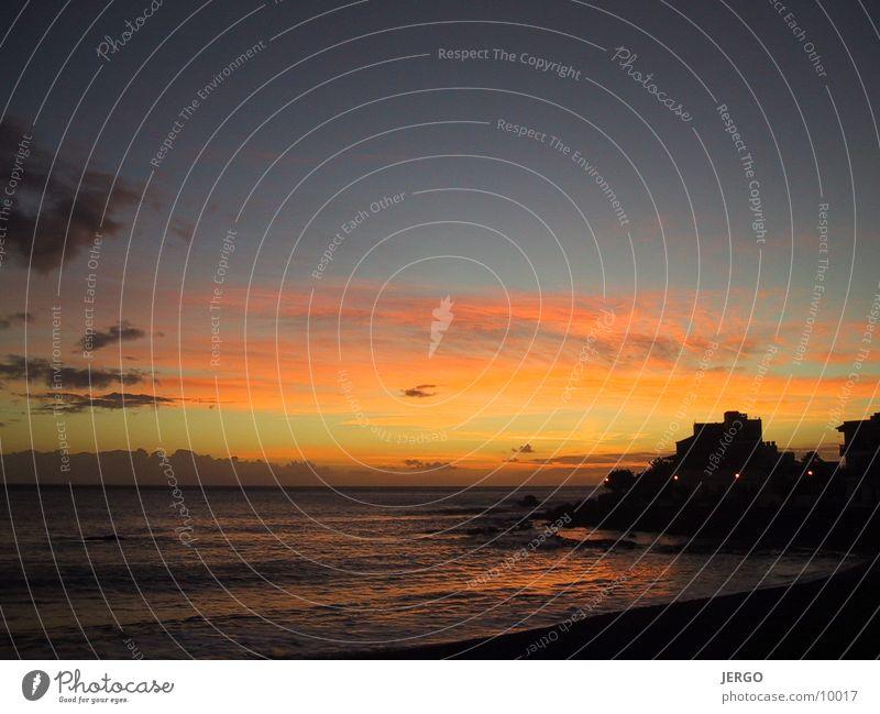 La Gomera Sunset Ocean Dusk