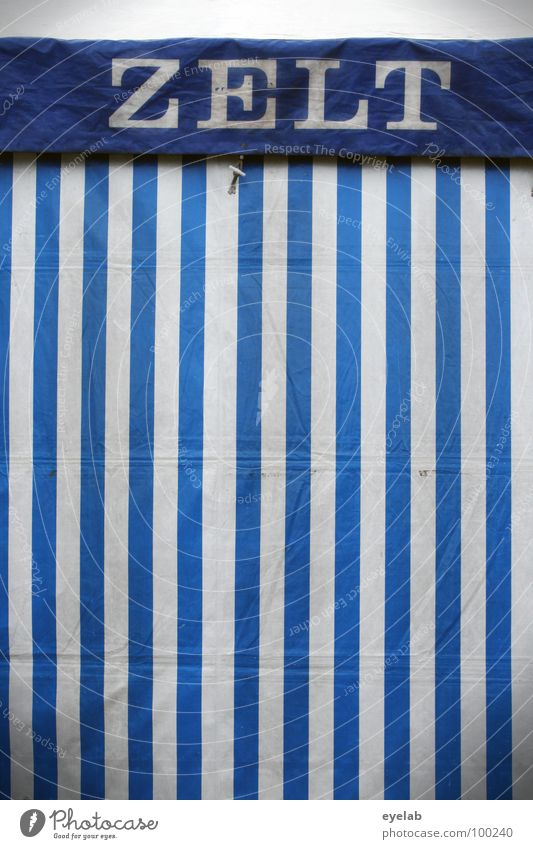 Blue White Summer Joy Garden Feasts & Celebrations Characters Stripe Letters (alphabet) Gastronomy Fairs & Carnivals Society Striped Dome Tent Public Holiday