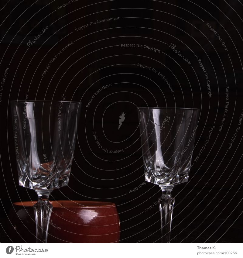 Beautiful Dark Black Glittering Glass Empty To enjoy Stalk Crystal structure Banquet Classification Contents Wine glass Fill Ashtray Spirits