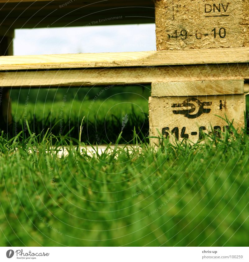 Nature Green Meadow Wood Industry Logistics Lawn Truck Sign Concert Euro Weight Nail Shipping Palett Norm