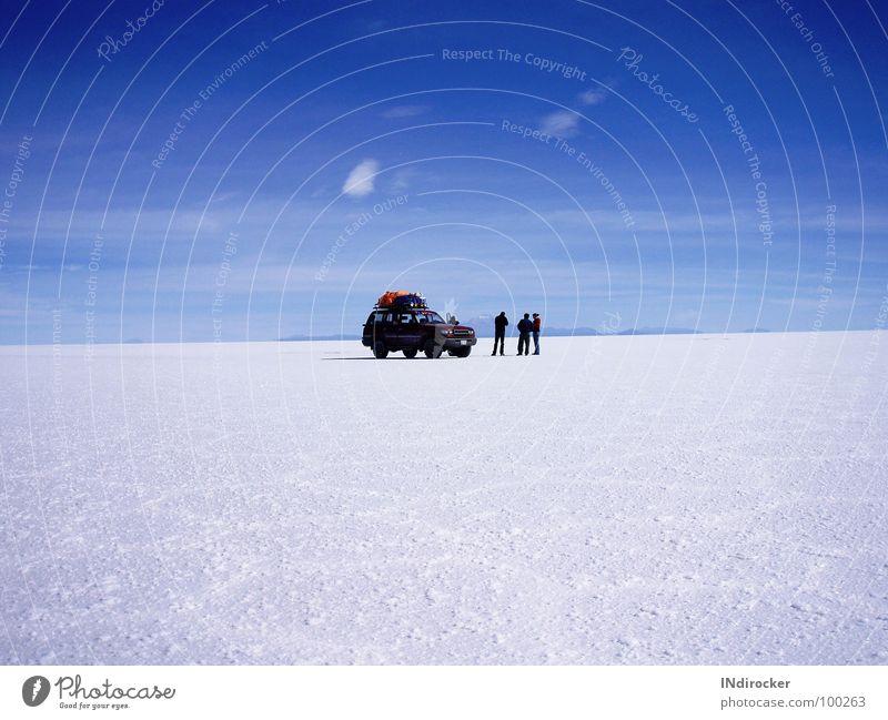 Heaven & earth so close... Salt  lake Salar de Uyuni Bolivia Infinity Fascinating Natural phenomenon Longing Wanderlust Calm Completion Far-off places Sky