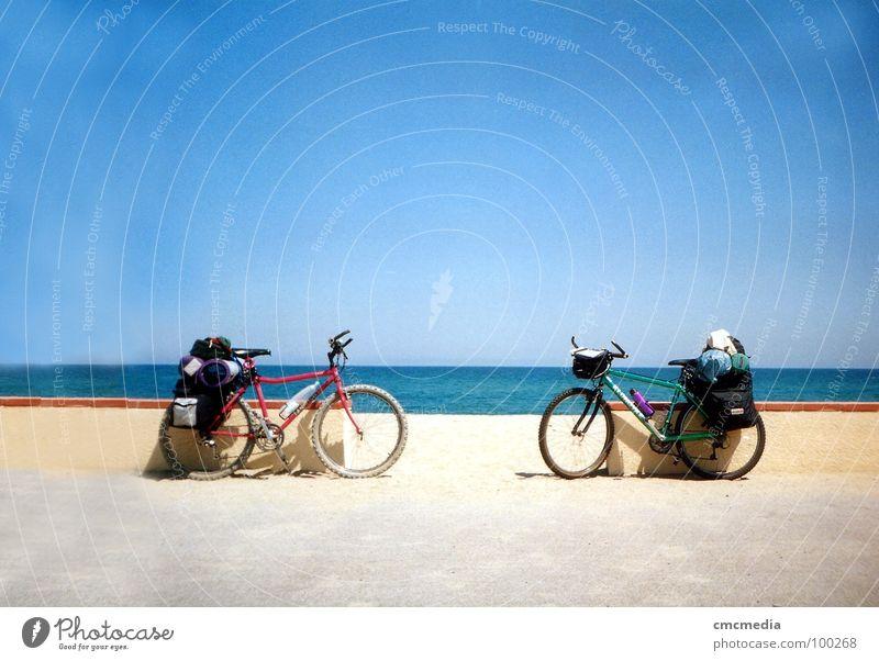 Tour de France Mountain bike Bicycle Ocean Beach Promenade Vacation & Travel Coast Sky