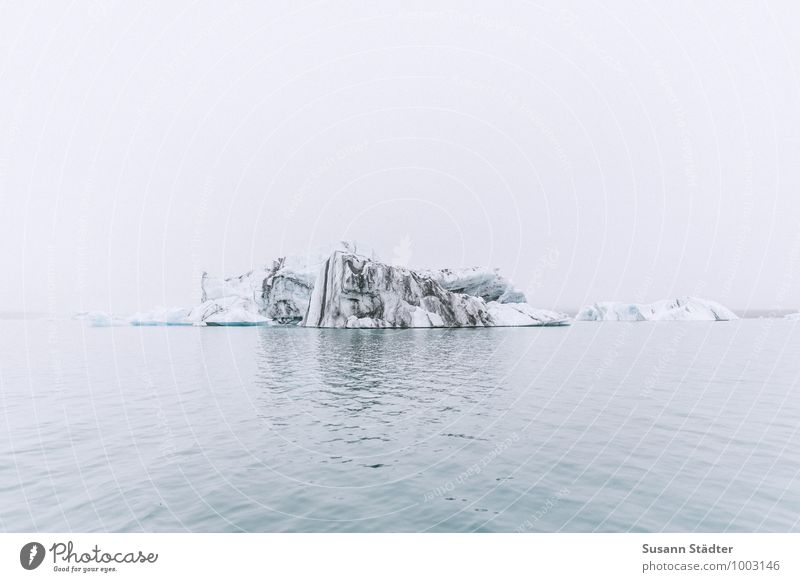Sky Nature Cold Environment Mountain Coast Rock Ice Fog Waves Climate Elements Frost Past Lakeside Iceland