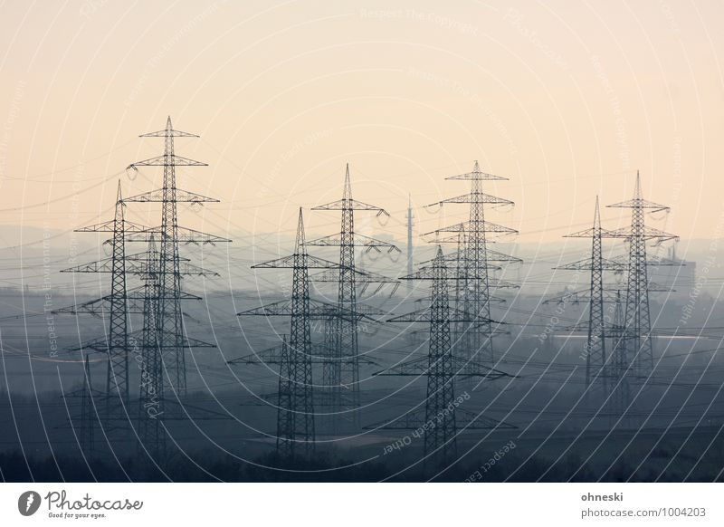 stream Cable Technology Energy industry Renewable energy Energy crisis Industry The Ruhr Electricity pylon Environmental protection Environmental pollution