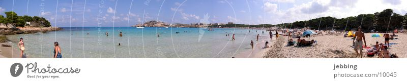 Water Sun Ocean Summer Beach Vacation & Travel Lake Large Europe Swimming & Bathing Bay Spain Majorca Panorama (Format) Mediterranean sea Nature