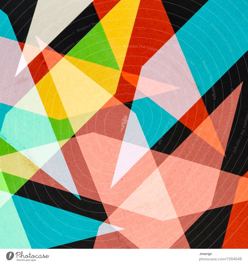 snippets Style Design Metal Exceptional Sharp-edged Uniqueness Crazy Blue Yellow Green Red Black Colour Geometry Structures and shapes Colour photo