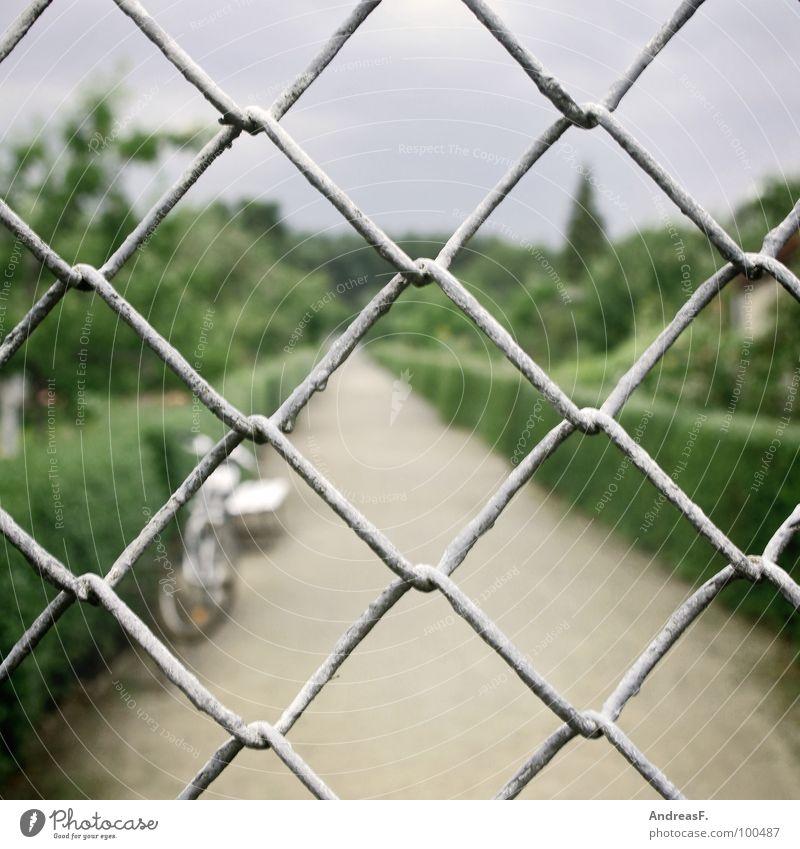 Green Lanes & trails Garden Safety Protection Gate Fence Wire Thief Garden plot Hedge Break-in Loop Wire netting fence Wire netting