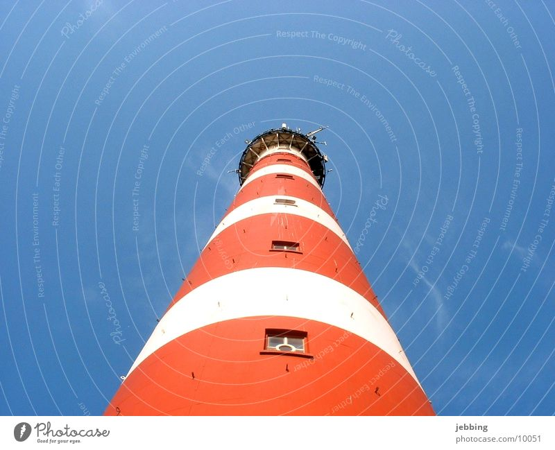 lighthouse Lighthouse Ocean Vacation & Travel Iceland Sky Blue sky Europe Tower Island North Sea northsea light.house beacon holiday