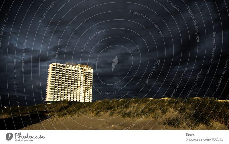 Sky Dark Baltic Sea Dramatic Debauched Theatrical