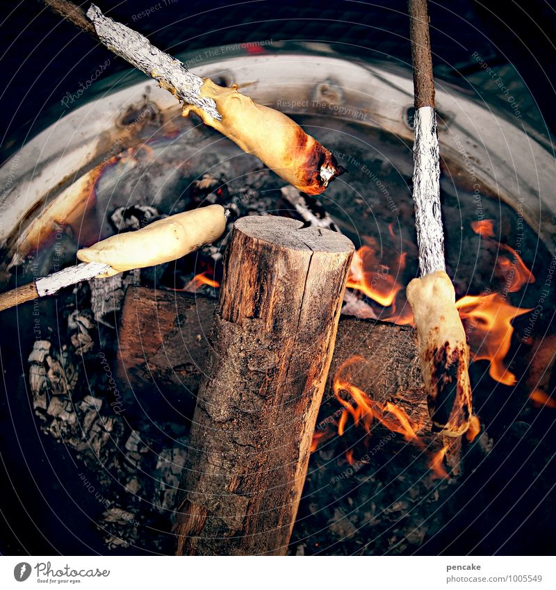 Sticky, sticky, sticky. Nutrition Fragrance Leisure and hobbies Feasts & Celebrations Nature Elements Fire Summer Discover To enjoy Bread Impaled Embers