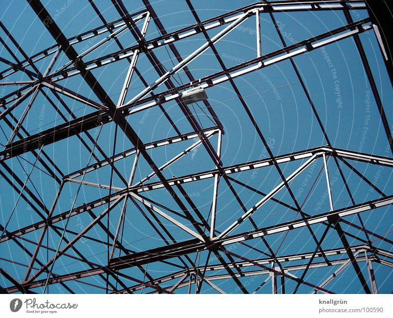 Metal everywhere Construction Electricity Crossbeam Aspire Gray Connectedness Industry Blue Silver Technology Sky Advancement Shadow