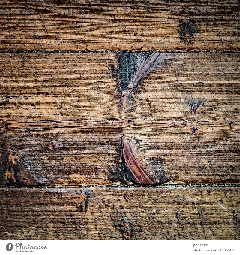 retro expired Wood Old Authentic Dirty Good Uniqueness Near Natural Original Retro Brown Wisdom Inspiration Wooden floor Floorboards Wooden board Expired