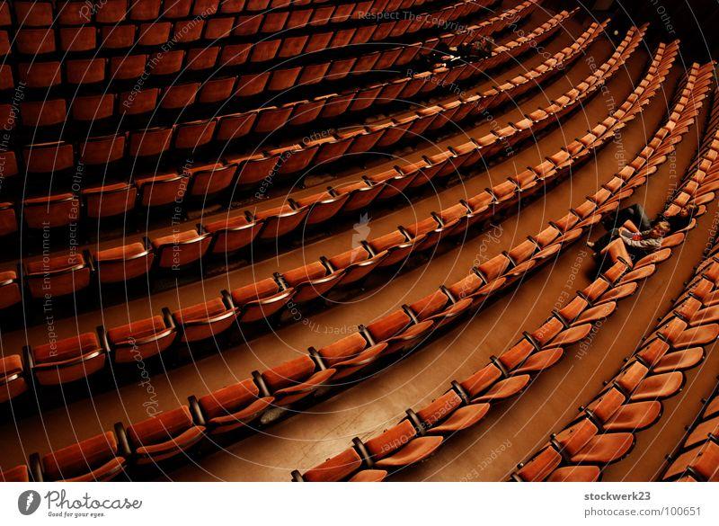 Joy Break Theatre Cinema Audience Seating Repeating Row of seats