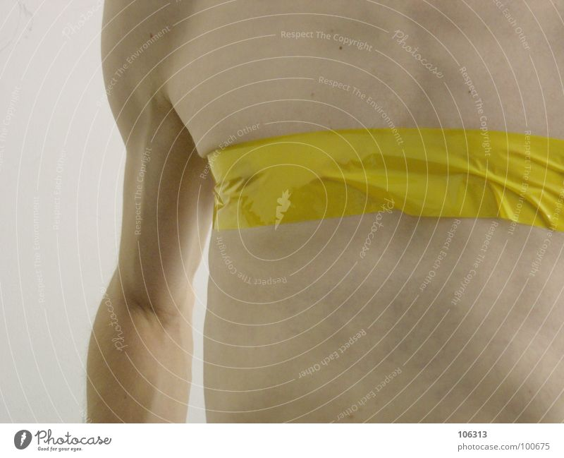 Human being Man Nature Far-off places Yellow Art Body Arm Skin Exceptional Esthetic Near Wrinkles Chest Pain Transparent