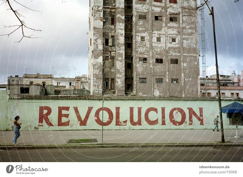 revolt Cuba Havana Wall (barrier) Socialism Reunification