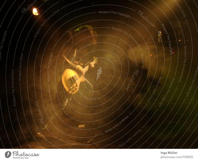 Music Shows String Concert Stage Guitar Floodlight Musician Guitarist