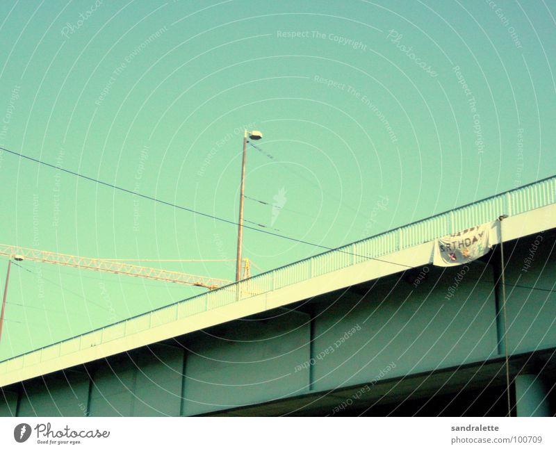 Sky Germany Birthday Bridge Cologne Congratulations Jubilee Happy Birthday