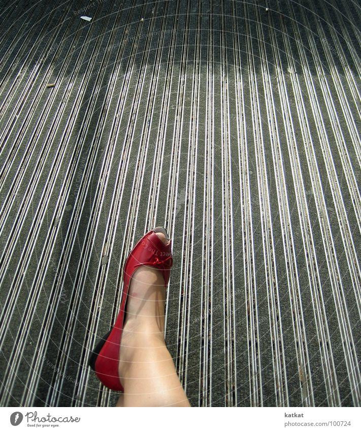 i love ... Red Footwear Toes Floor covering Gray Summer peeptoes thong sandals balerinas Feet Legs