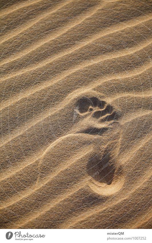 Step. Environment Nature Landscape Esthetic Contentment Footprint Sandy beach Desert Warmth Summer Summer vacation Summery Beach dune Human being Colour photo