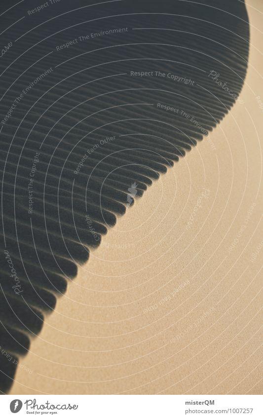 Dune vortex I Art Esthetic Contentment Beach dune Desert Sandy beach Structures and shapes Wind Idyll Symmetry Colour photo Subdued colour Exterior shot