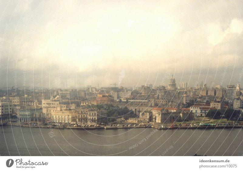 City Tall Skyline Cuba Havana