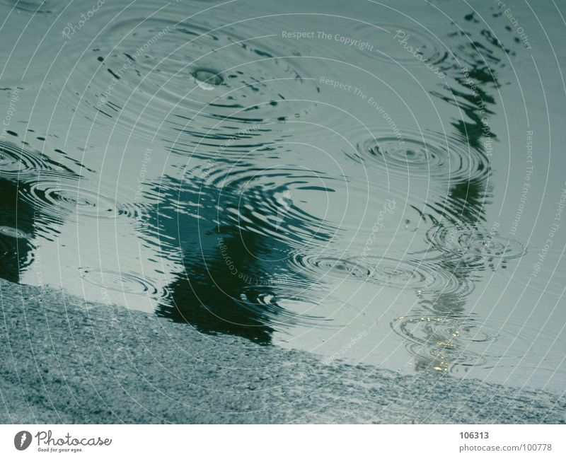 Sky Blue Joy Calm Far-off places Cold Sadness Moody Rain Going Contentment Wet Circle Drop Asphalt To hold on