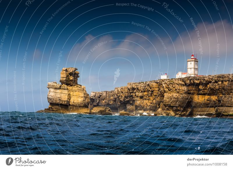 Lighthouse and Golem Vacation & Travel Tourism Trip Adventure Far-off places Freedom Summer vacation Environment Nature Landscape Plant Elements
