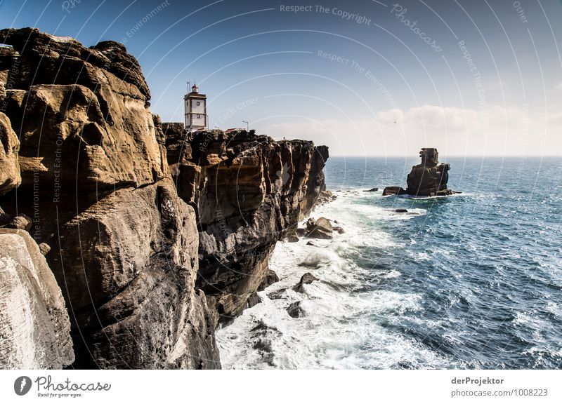 Lighthouse at Cabo Carvoeiro Leisure and hobbies Vacation & Travel Tourism Trip Adventure Far-off places Freedom Sightseeing Summer vacation Environment Nature