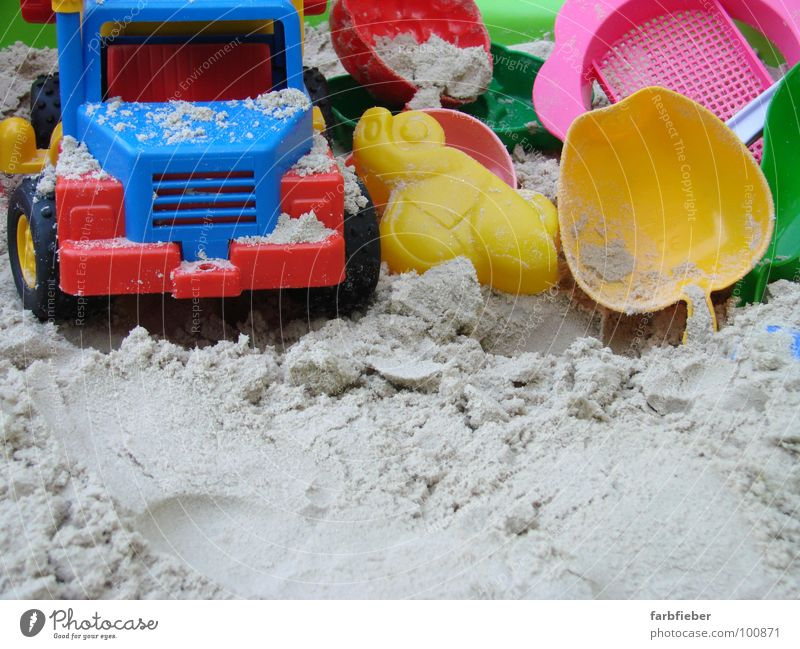 Blue Red Summer Yellow Playing Car Sand Construction site Toys Truck Infancy Plastic Kindergarten Build Stagnating