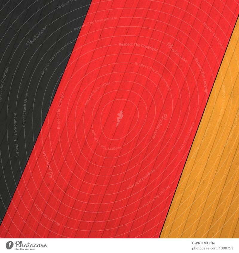 Red Black Yellow Background picture Metal Gold Sign German Flag Graphic Pride World Cup Agreed Loyal Patriotism UEFA European Championship