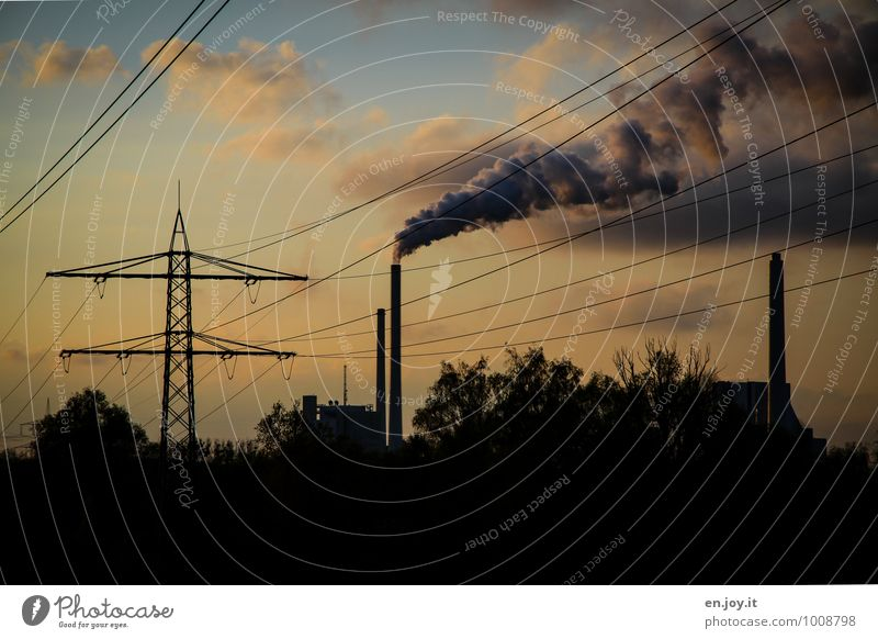 energy supply Luxury Save Healthy Economy Industry Energy industry Advancement Future Renewable energy Coal power station Energy crisis Environment Climate