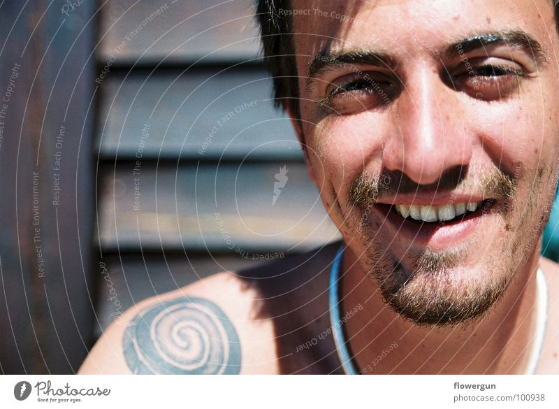 Man Style Grinning Portrait photograph
