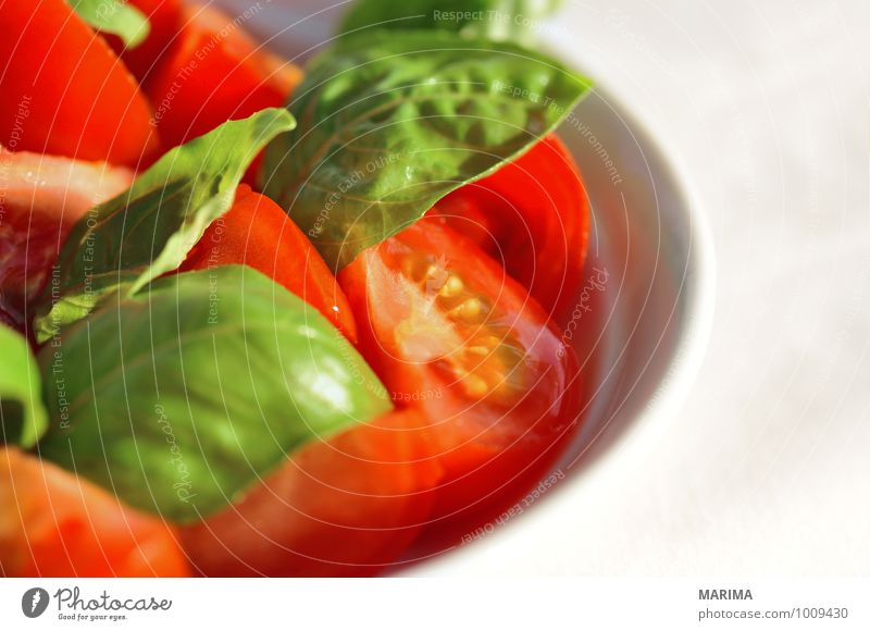 Nature Green Red Leaf Cold Environment Love Food Fresh Nutrition Vegetable Gastronomy Delicious Mature Plate Tomato