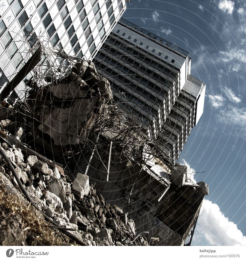 terminus Station Terminus Construction site Dismantling Rip Building rubble Bomb attack Bus stop Israel Terror High-rise Balcony Facade Window Housing area Town