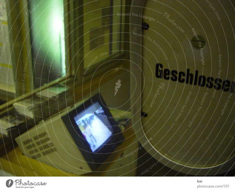 Transport Closed Underground Screen Past Hatch Counter Surveillance monitor