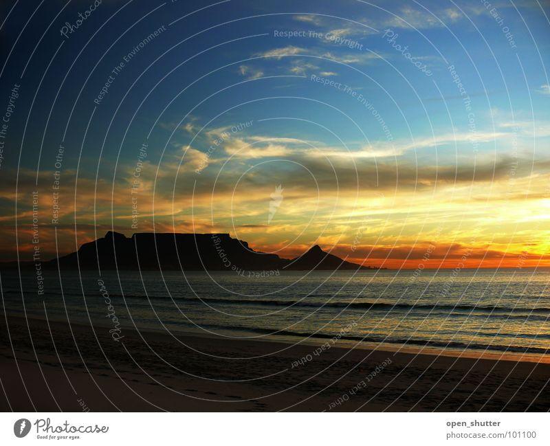 Sky Beach Coast South Africa Monument Landmark Cape Town