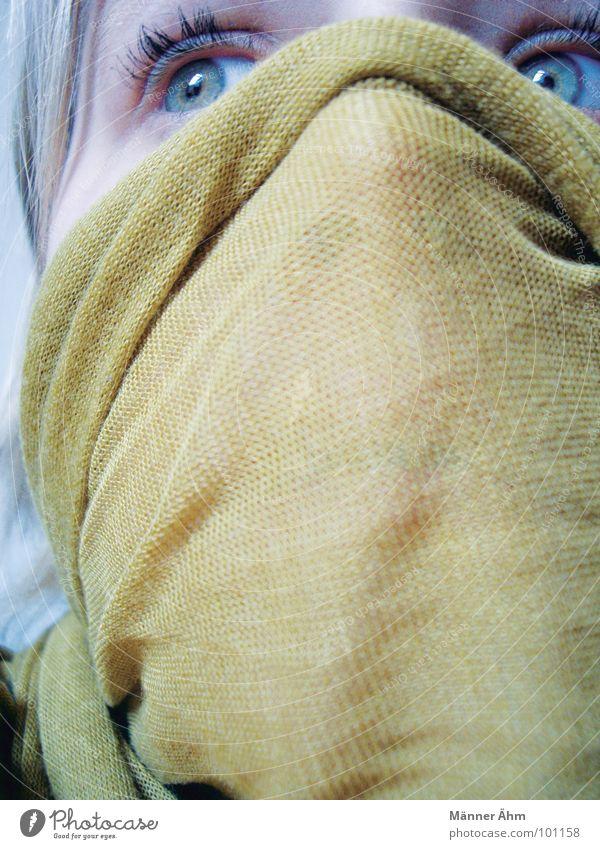 Joy Face Fear Dangerous Protection Mask Hide Panic Rag Bacterium