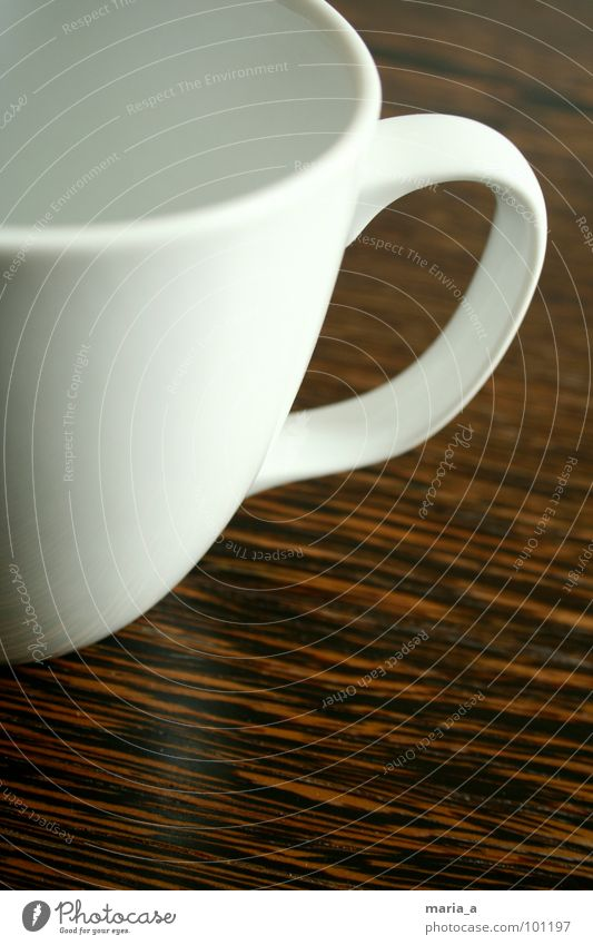 White Relaxation Style Wood Brown Elegant Empty Table To enjoy Break Coffee Delicious Fluid Tea Cup Surface