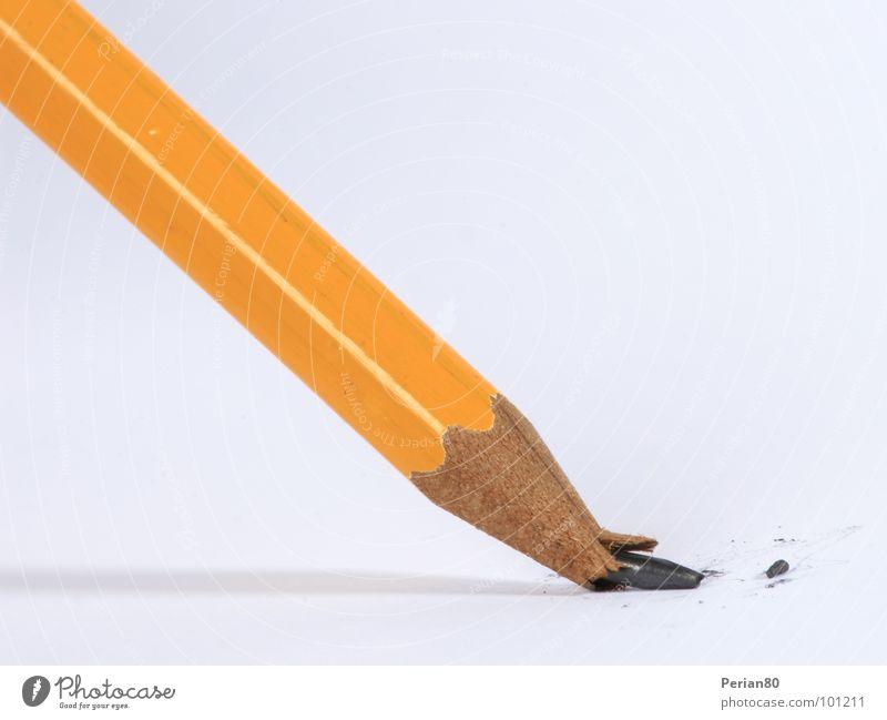 Orange Broken Pen Disaster Pencil Pencil lead