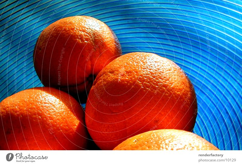 Blue Orange Fruit Things