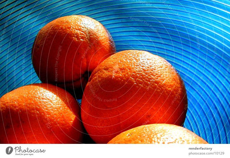 orange Orange Things Fruit Blue