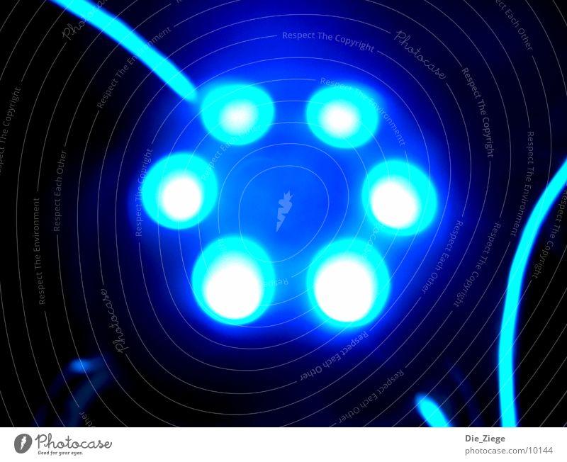 Blue UFO Embellish