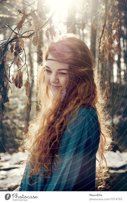 Human being Woman Child Nature Youth (Young adults) City Beautiful Tree Young woman 18 - 30 years Forest Adults Warmth Life Feminine Hair and hairstyles