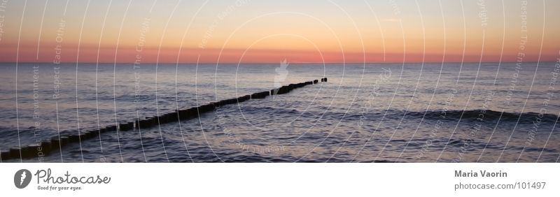 Water Vacation & Travel Summer Ocean Beach Relaxation Lake Waves Large Wet Baltic Sea Navigation Footbridge Panorama (Format) High tide Low tide