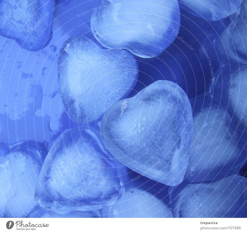 Water Blue Love Colour Cold Emotions Sadness Heart Background picture Drops of water Wet Grief Romance Kitsch Pain Distress