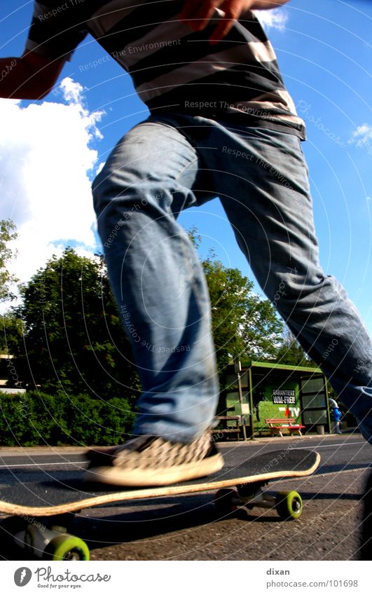 Youth (Young adults) Summer Joy Sports Playing Leisure and hobbies Skateboarding Dynamics