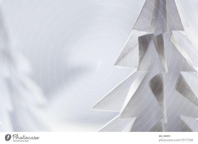 origami Elegant Style Design Wellness Handicraft Christmas & Advent Kindergarten Art Environment Nature Landscape Winter Snow Tree Fir tree Spruce